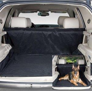 Araba Pet Koltuk Paspaslar Kapakları-Pet taşıyıcılar Oxford Kumaş Paw desen Geri Tezgah Koltuk Seyahat Aksesuarları Araba Koltuğu Mat Kapakları