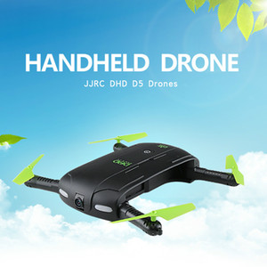 DHD Pocket foldable RC Selfie Drone With HD Camera FPV Quadcopter Helicopter WiFi Phone Mini Drone JJRC H37