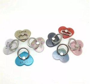 2017 Hot sale New Socket fidget Creative Love Heart Shaped Mobile Phone Ring Bracket Moblie phone holder easy to hold phone