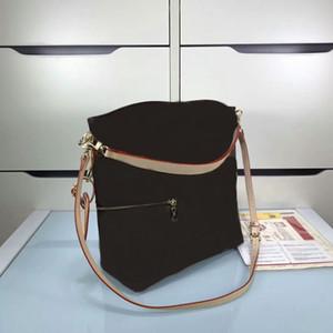 Bolso de almohada de las mujeres de la marca de la marca famosa de alta calidad M41544 Melie Bags Bag CX # 215 tiene carteras correas