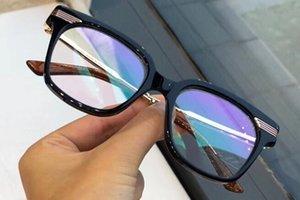 럭셔리 패션 여성 디자이너 안경은 광학 렌즈 스퀘어 전체 프레임 블랙 거북이 빙 빙 케이스와 함께 어둡게