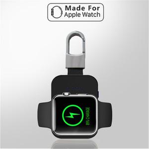 Batterie externe Chargeur sans fil Dock QI de charge rapide pour la série d'Apple montre iWatch 1/2/3