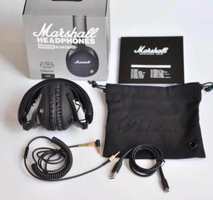 Marshall MONITOR Auriculares Auriculares con cancelación de ruido Deep Bass Monitor de estudio Rock DJ Hi-Fi Guitar Rock Auriculares inalámbricos Auriculares con micrófono