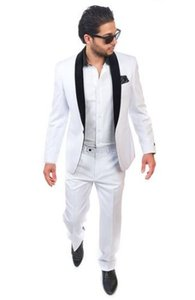 men business suits for groom tuxedo for wedding prom wear 2020 white dress high quality suit