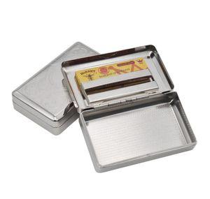 Boîte à cigarettes en métal, réservoir d'hydratation de boîte à cigarettes en acier inoxydable