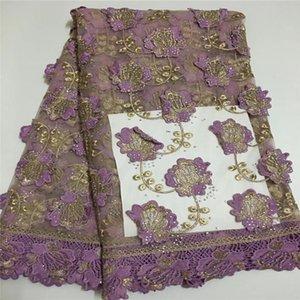 후안 아프리카 레이스 직물 2018 고품질 나이지리아 레이스 직물 Tissu Africain Guipure 자수 프랑스어 Tulle Lace Fabric