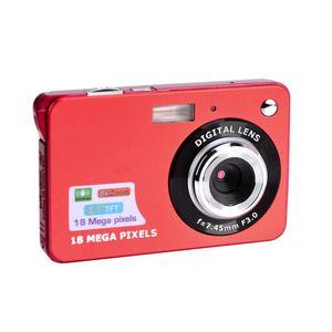 Moda 2,7 polegadas TFT LCD 18MP 720P 8x de zoom HD Digital Camera Anti-Shake Camcorder Vídeo CMOS Micro Camera presente das crianças