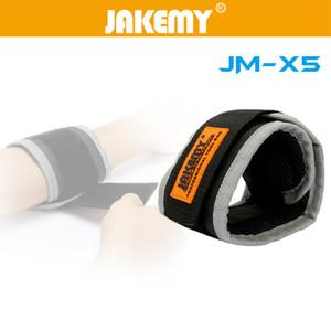 JAKEMY JM-X5 Manyetik Bileklik Bilezik Kemer Onarım Aracı Cep Tutan Vida / Tırnak / Matkap Ucu