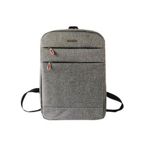 배낭 남성용 노트북 가방 여행 도난 방지 배낭 다기능 캔버스 남성 지퍼 큰 Mochila Escolar # 442