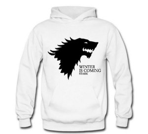 The Game of Thrones spike print men's fashion hooded hoodie m-3xl