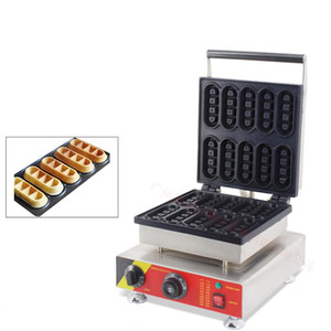 Commercial NP-513 electric waffle maker bar shaped waffle making machine square shaped waffle oven popular snack equipment