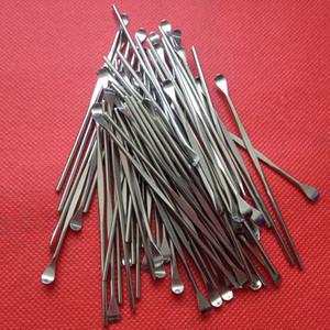 Titanyum Aracı Metal Dabber Balmumu Araçları Atomizer Paslanmaz Çelik Dab Aracı Titanyum Dabber Aracı Buharlaştırıcı Kuru Ot Balmumu Vape Araçları