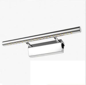 led lampada specchio bagno vanità luci con interruttore applique da parete bagno illuminazione verso il basso lampade 3 w / 5 w / 7 w / 9 w / 15 w