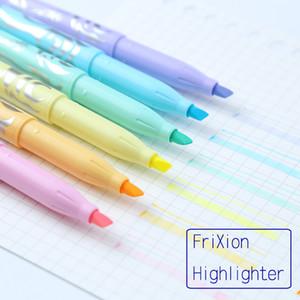 LifeMaster Pilot Surligneur- 6 Couleur / Pastel Doux Couleur FriXion Effaçable Marker Set Doodle Peinture Design Supplies SW-FL