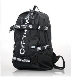 Brand Zaino con piastra scorrevole Skids exercise school bag Skate board daypack Skateboard zainetto Outdoor zaino Sport day pack