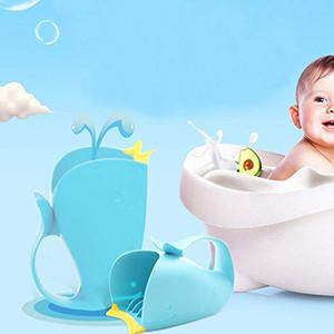 Cucchiaio da bagno per bambini Lavaggio dei capelli Shampoo per bambini Cucciolo di balena per bambini Cucchiaio per bambini