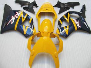 Kit de carénage bleu jaune pour Honda CBR900RR 2002 2003 Kit de carénage CBR954 02 03 CBR954RR CBR 954RR CX28