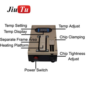 Jiutu LCD Separator Machine For iPhone X 8G 8 Plus 7G 7 Plus Repair Refurbished Fit All Under 7 inch LCD Screen