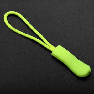 Zipper Head Sliders Black Puller Deportes Mochila Rope Puller DIY Prendas de vestir Accesorios