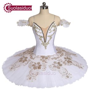 Adult White Professiona Ballet Tutu Black Swan Perfromance Stage Wear Women Ballet Dance Competition Costumes Girls Ballet Skirt Apperal