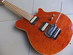 Frete grátis ! Atacado New Music man Guitarra Elétrica Em Orange Burst 101122