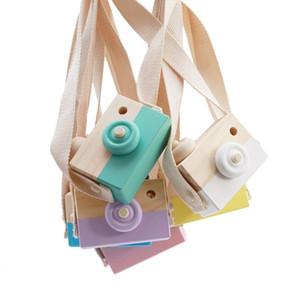 Adorables lindas cámaras de madera, juguetes para bebés, niños, decoración, artículos de decoración, regalos de cumpleaños infantiles, estilo europeo nórdico (8 colores)