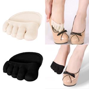 1 paio di cotone sottopiedi solette pastiglie per il piede solette antidolorifiche gel massaggiare metatarsale sostegno della punta pastiglie solette avampiede