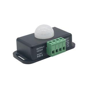 Edison2011 DC12V 24 V LED PIR Sensörü Anahtarı Denetleyici Sensörü Indüksiyon LED Dimmer Anahtarı Için Led Ampul Ve Şerit