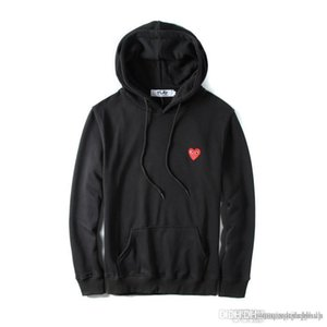 Men '; S Pullover Hoodies Heart Printed Coat Mode Jogger Trainingsanzug dünne Sweatshirts Skateboard Hoodie Liebhaber'; S Casual Jacke
