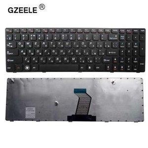 GZEELE rusça laptop Klavye Lenovo V580C V570 V570C V575 Z570 Z575 B570 B570A B570E B570G B575 B575A B575E B590A RU SIYAH