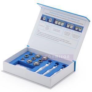 Diamond Dermabrasion Mircrodermabrasion con 9 piezas de Diamond Tips y 3 piezas Diamond Wand para limpieza facial y rejuvenecimiento de la piel