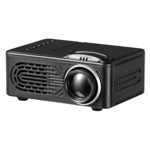 HD mini Projetor Ultra Alto Contraste Dinâmico até 1000 mah bateria para Festa de Viagem Família Olho protegido Luz LED