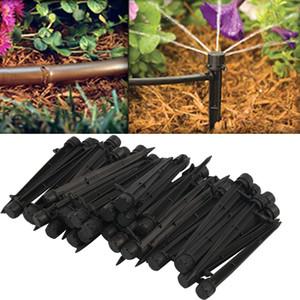 50pcs Akış Sulama Damlama 360 Derece Verici Damla Sistemi Verici Mikro Akış Damlatıcı Damla Baş Bahçe Çim Sulama
