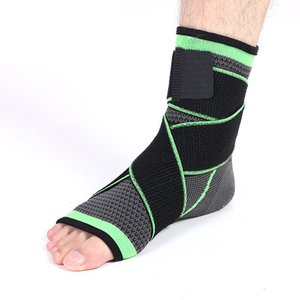 1 pc Ankle Stabilizer Brace Compression Wrap Foot Protector pour Entorse Aux Chevilles Running Sport Football Football Volleyball Et Basketball