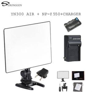 HOT YONGNUO YN300 공기 YN-300 AIR 프로 LED 카메라 비디오 조명 Canon Nikon + BATTERY + Charger + eu 플러그 용