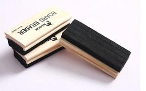 new wholesale 2 piece wooden blackboard eraser chalk large high grade woollen felt teaching eraser supplies easy to wipe scratch