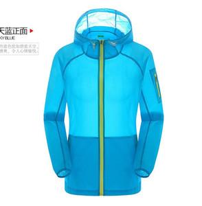 Giacca a vento impermeabile Fashion 2018 Solid Jacket Donna più colori