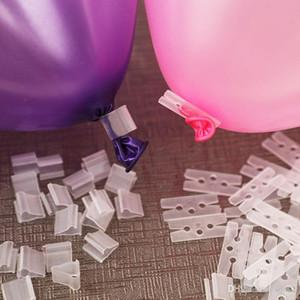 Acessórios de balão de Vedação de Braçadeira Marriage Goods Removível Vara Clipe Wedding Party Room Decorar Bardian V Forma Botões Clips 0 03hh dd
