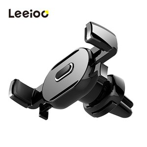 LEEIOO Air Vent Car Phone Holder Stand For iphone X 8 7 Samsung S8 GPS Universal Mobile Phone Holder