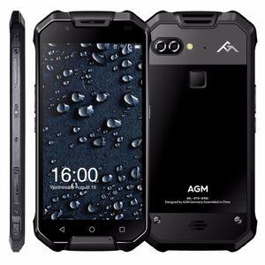 "AGM X2 IP68 Waterproof Mobile Phone 5.5"" 6GB RAM 64GB 128GB ROM Android 7.1 MSM8976SG Octa Core 12.0MP 6000mAh NFC smartphone"