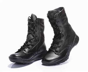 CQB bottes de combat ultra-légères été haut top désert bottes hommes chaussures de combat tactiques de sécurité des bottes de l'armée