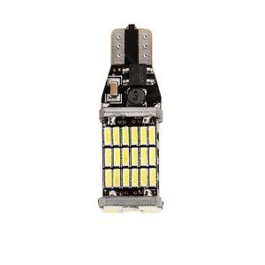 LOONFUNG LF115 T15 W16W Lampadine a LED a luce retromarcia 920 921 912 Canbus 4014 45SMD Evidenziatore LED a LED per parcheggio luci lampadine DC12V