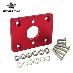 PQY - JDM style Red Brake Booster Delete Plate Elimi-Plate FOR Honda D-Series B-Series PQY-BBD01