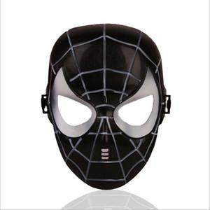 Plastik Çocuk Cadılar Bayramı Maskeleri Avengers Ittifak Maske Avengers Hulk Kaptan Amerika Batman Ironman Siyah ve Kırmızı Örümcek-Adam Maske