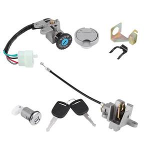 Zündschloss Key Lock Tankdeckel Set für GY6 50cc Roller-Moped-Fahrrad Jonway TAOTAO Roketa