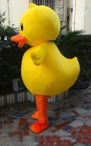 2018 costume chaud de haute qualité de canard jaune Big Déguisements Taille adulte Costumes - mascotte personnalisable