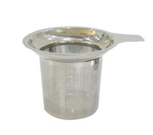 Nuevo Llega el Infusor de Té de Malla de Acero Inoxidable Colador Reutilizable Filtro de Hojas de Té Sueltas DHL FEDEX Libre