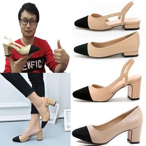 frete grátis sensuais novos confortável calcanhar meio planas mulheres calcanhar nu casamento sapatos de fino calcanhar senhora