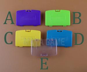 Дополнительная замена крышки батарейного отсека для ремонта игровой консоли GBC Gameboy Color