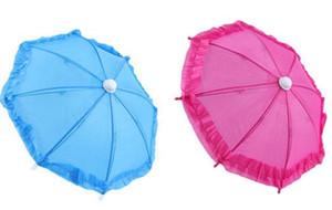 25pcs dia 28 cm bonbons couleur solide couleur parapluie danse parapluie jouet accessoires parapluie spécial multicolore livraison gratuite